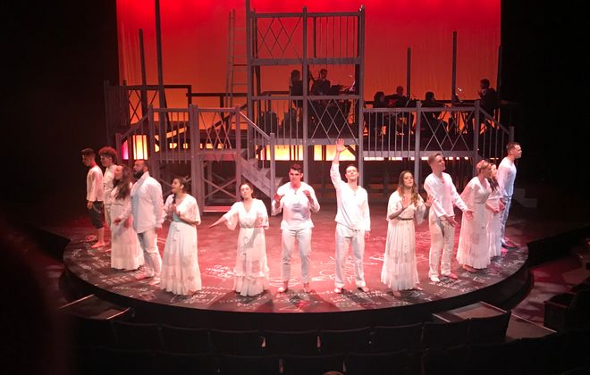 """MusicalFare Theatre's production of """"Spring Awakening"""" opens March 8 in Shea's 710 Theatre."""