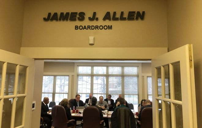 The Amherst Industrial Development Agency has hired Jonathan O'Rourke as its new director of business development. (Stephen T. Watson/News file photo)