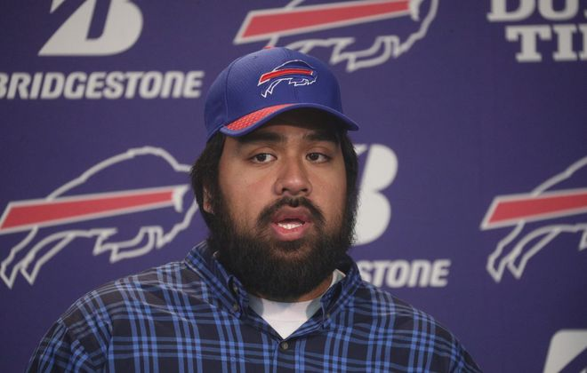 Signing free agent Star Lotulelei was one of the Bills' many moves this week. (John Hickey/Buffalo News)