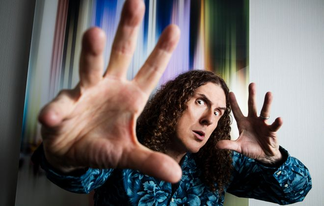 Weird Al Yankovic will perform a concert in a sold-out show at the University at Buffalo Center for the Arts. (Todd Heisler/The New York Times)