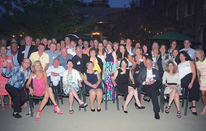 The Williamsville South class of 1975 celebrated its 40th reunion last summer at The Saturn Club.