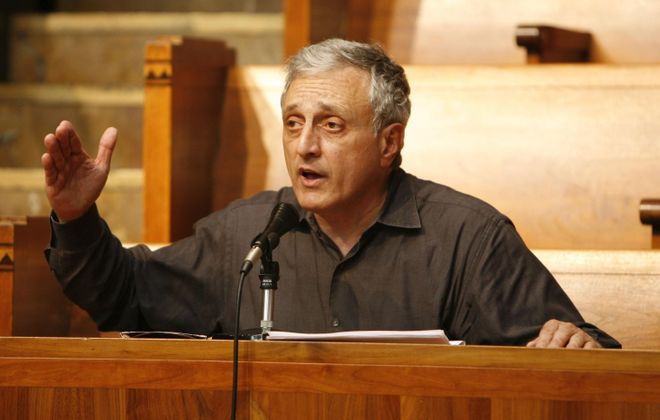 Ousted Buffalo School Board Member Carl P. Paladino heads to court to get his seat back as his colleagues say the board has been more focused without him. (Sharon Cantillon/ News file photo)