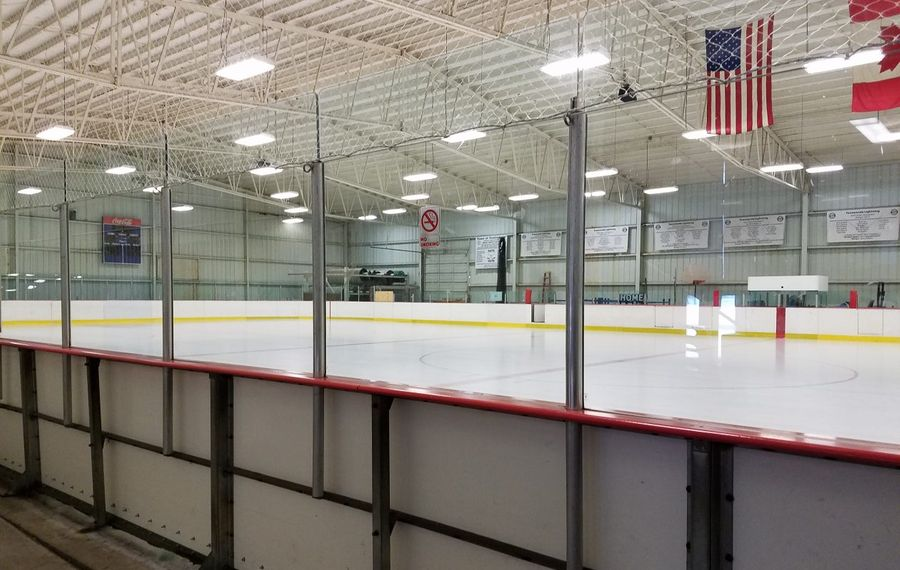 The Town of Tonawanda is weighing several upgrades to its recreational facilities, including a new ice arena located next to the outdated Brighton ice arena. (News file photo)