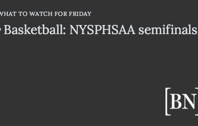 Homeroom Announcements: Friday's big games & more