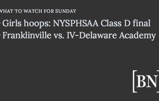 Homeroom Announcements: Sunday's big games & more