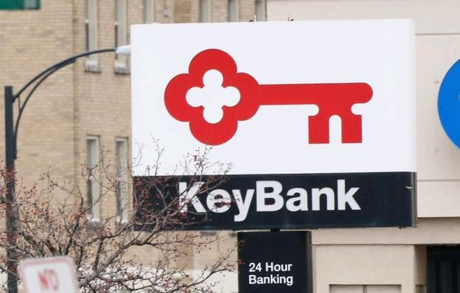 KeyBank is preparing to close a drive-up facility in Lewiston. (News file photo)