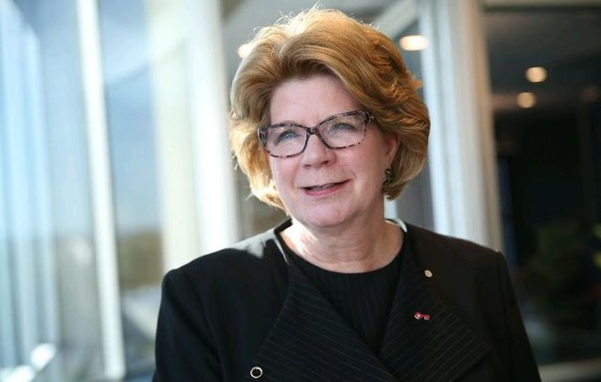 KeyBank chairman and CEO Beth E. Mooney said Key has reached its cost-savings target from the First Niagara deal. (News file photo)