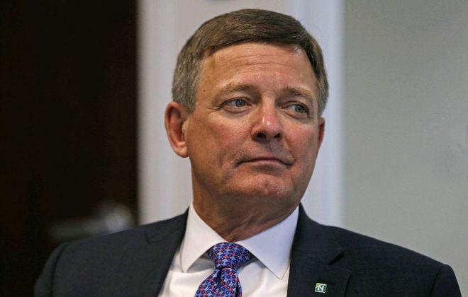 Ronald Seiffert  is the new CEO of Northwest Bank. (Robert Kirkham/Buffalo News)