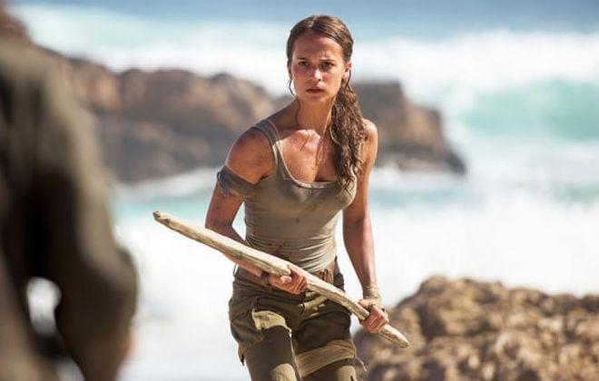 "Alicia Vikander is the new ""Tomb Raider."""