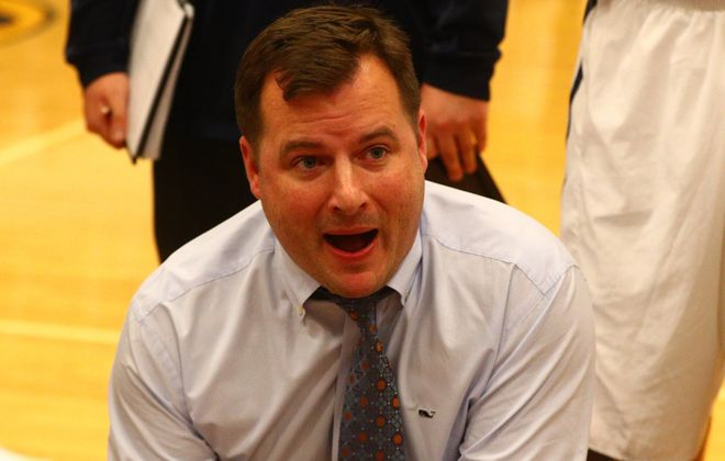 Coach Kyle Husband's Canisius Crusaders bring the No. 1 large-school ranking into Tuesday's league game against rival St. Joe's.  (James P. McCoy / Buffalo News)