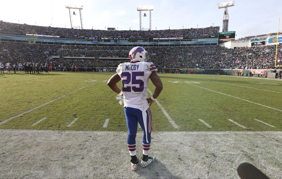 LeSean McCoy in January 2018. (James P. McCoy/News file photo)