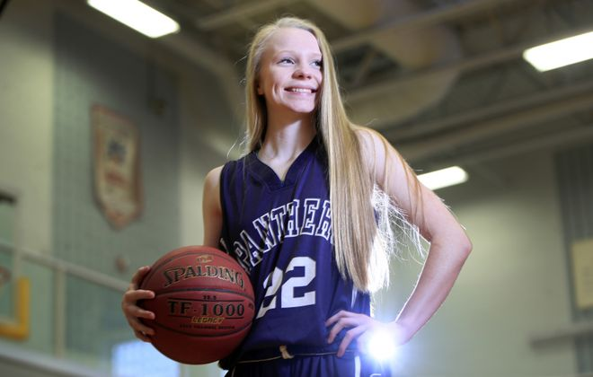 Dani Haskell of Franklinville basketball is back in the lineup after being sidelined with a viral infection (Harry Scull Jr./ Buffalo News file photo)