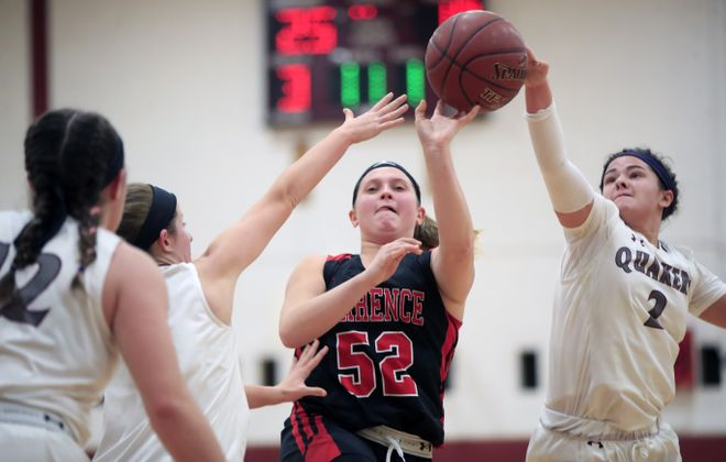 Orchard Park is the top seed in the Class AA bracket for the Section VI girls basketball playoffs. (Harry Scull Jr./Buffalo News)