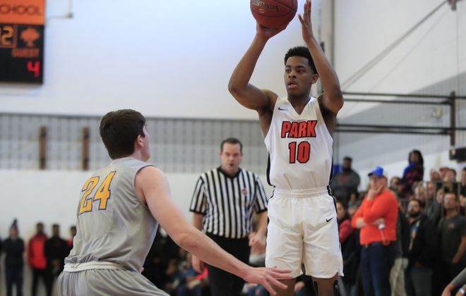 Brandon Smith and Park were voted the top large school in Western New York after beating Canisius on Saturday. (Harry Scull Jr./Buffalo News)