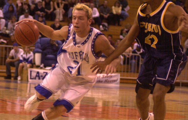 Gabe Cagwin, a fan favorite during his playing days at UB, is a senior associate athletic director at Arizona State. (John Hickey/Buffalo News file photo)