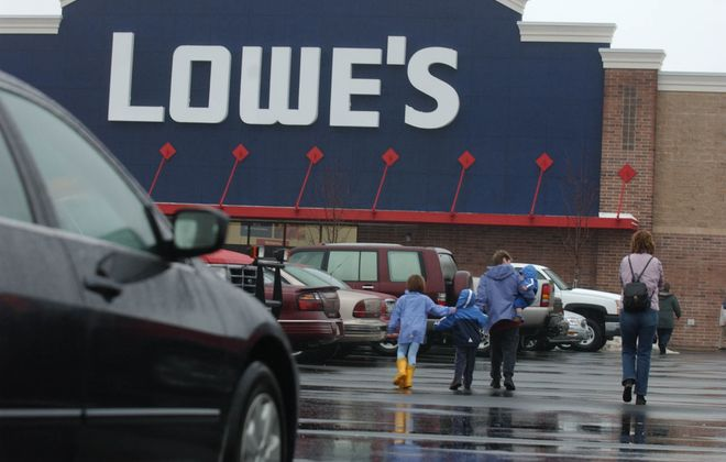 Some bored shoppers are heading to stores like Lowe's for something to do. (News file photo)