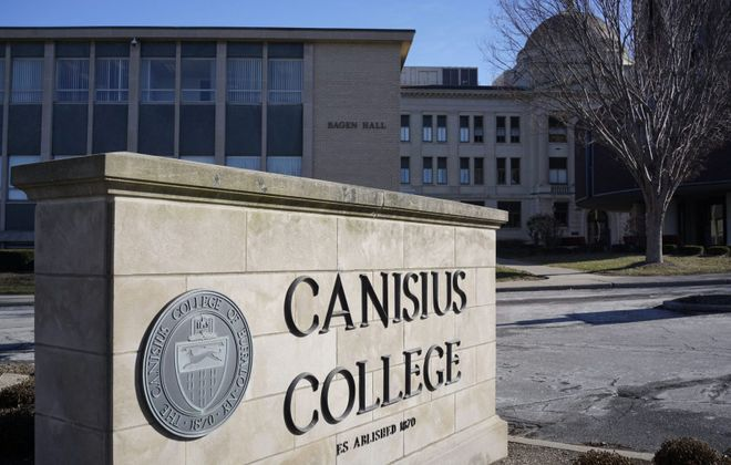 Canisius College. (Derek Gee/News file photo)