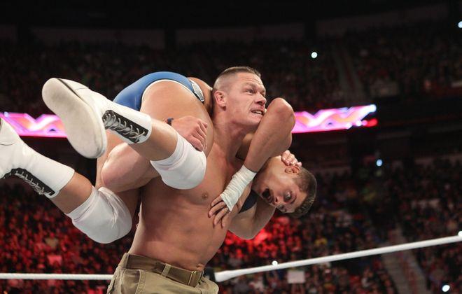 "John Cena returns to Buffalo with ""WWE Live: The Road to Wrestlemania."" (Photo courtesy WWE.)"