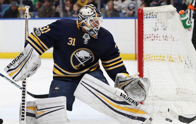 Chad Johnson fell to 1-7-3 Friday in Winnipeg (Getty Images file photo).