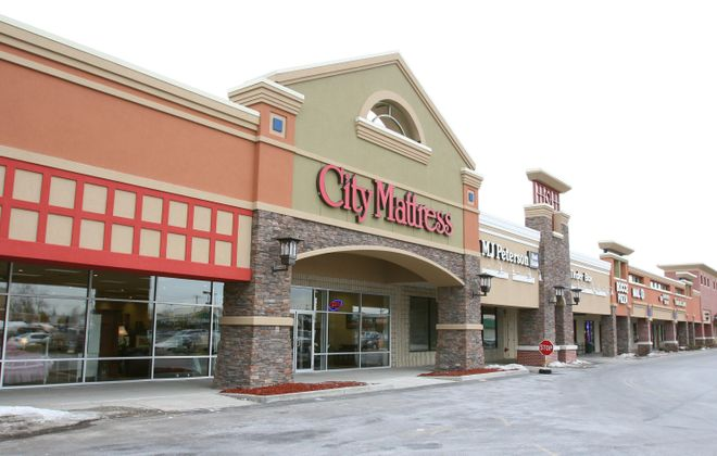 An exterior shot of the City Mattress Store in the Eastview Plaza, East Amherst, as it looked when it opened in 2007. The company is moving the store to an expanded building on Transit Road in Clarence. (Buffalo News file photo)