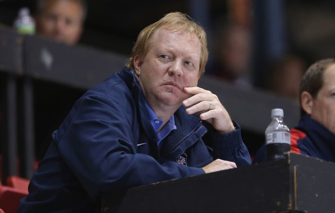 Jim Johannson, assistant executive director of USA Hockey, died at age 53. (Getty Images)