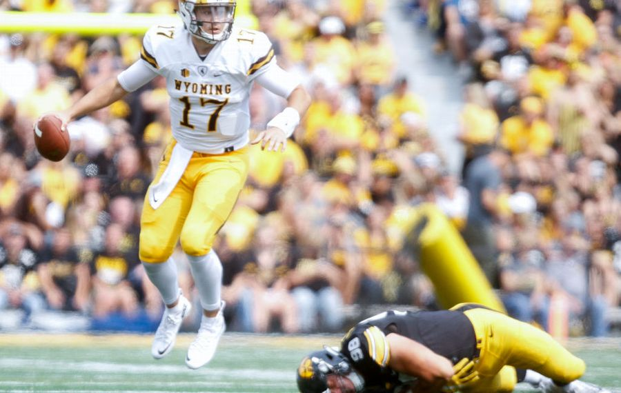 Is Wyoming QB Josh Allen ready to play in his rookie season? (Matthew Holst/Getty Images)