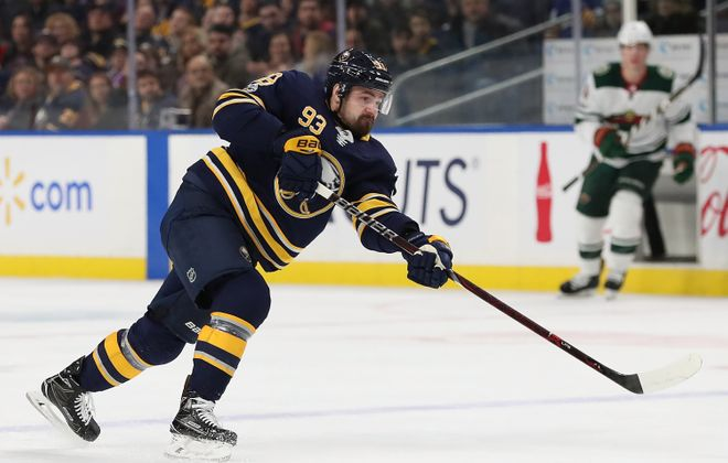 The Sabres' Victor Antipin has been absent for 10 straight days with an illness. (Getty Images)