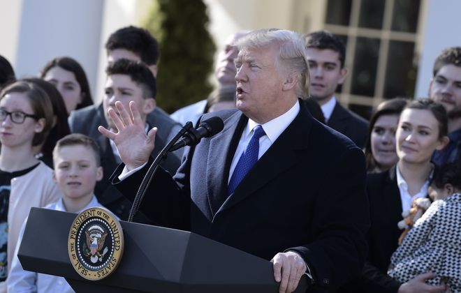 Trump's reckless talk obviously pleases a sizable minority of Americans, says Douglas Turner. (BRENDAN SMIALOWSKI/AFP/Getty Images)