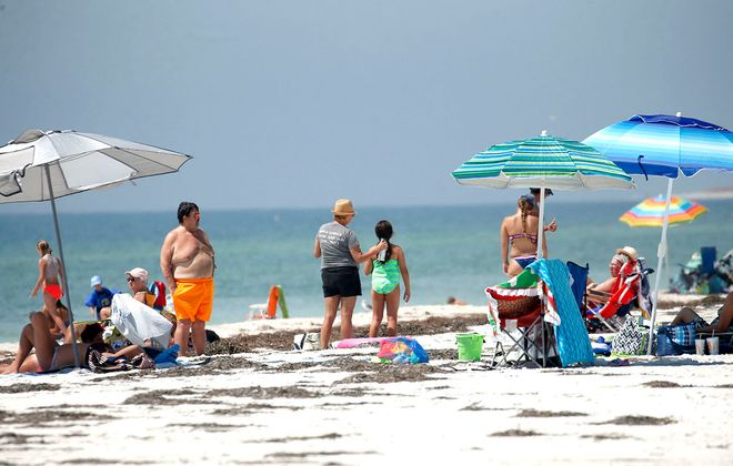 The oceans' ability to absorb heat has helped slow the rate of global warming on land. (Robert Kirkham/News file photo)