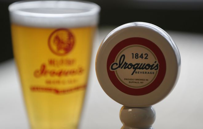 Iroquois beer is making a comeback thanks to a collaboration with Community Beer Works. (Mark Mulville/Buffalo News)