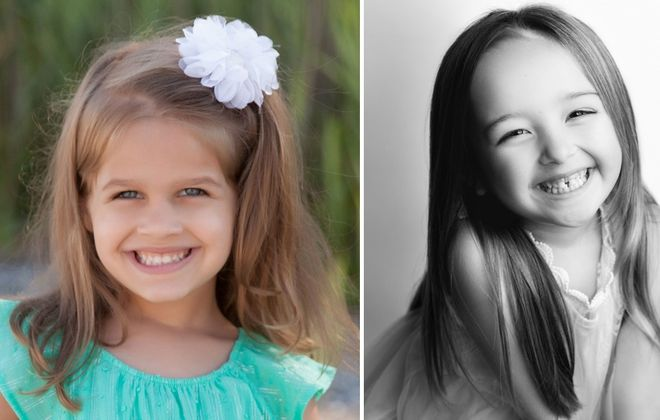 "Isabella Maritato, left, and Sophia Vandette, both 5, will alternate in the role of Lulu in a touring production of ""Waitress"" coming to Shea's Performing Arts Center on Feb. 6."
