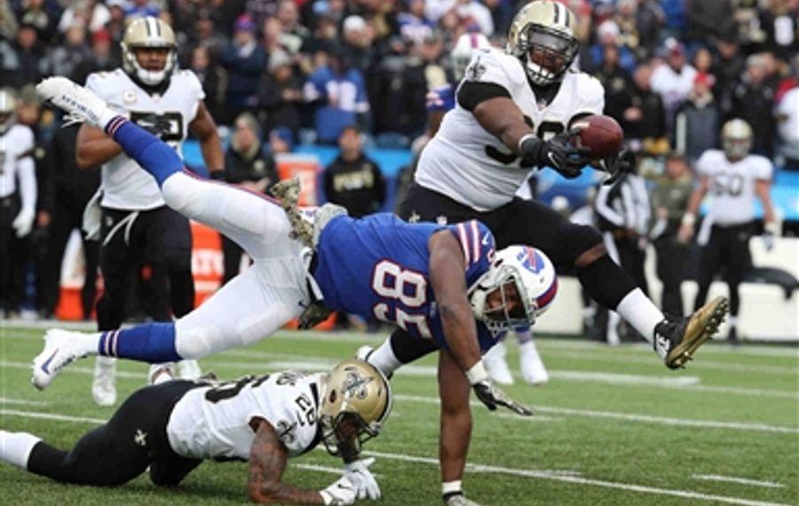 Saints 47, Bills 10: Through the lens of James P. McCoy