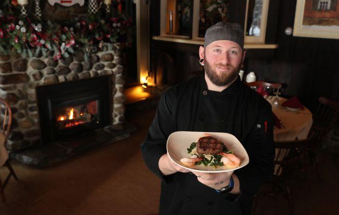The Old Orchard Inn Chef Dominic Licata presents the Cab Calloway. (Sharon Cantillon/Buffalo News)