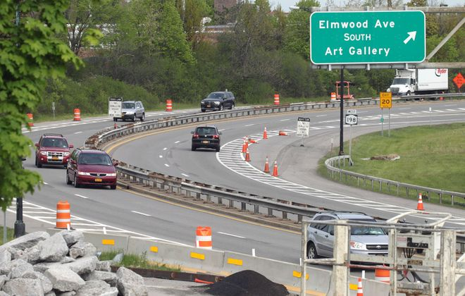 Two Buffalo Common Council members propose a design competition for the Scajaquada Expressway (Route 198) and Kensington Expressway (Route 33). (John Hickey/News file photo)