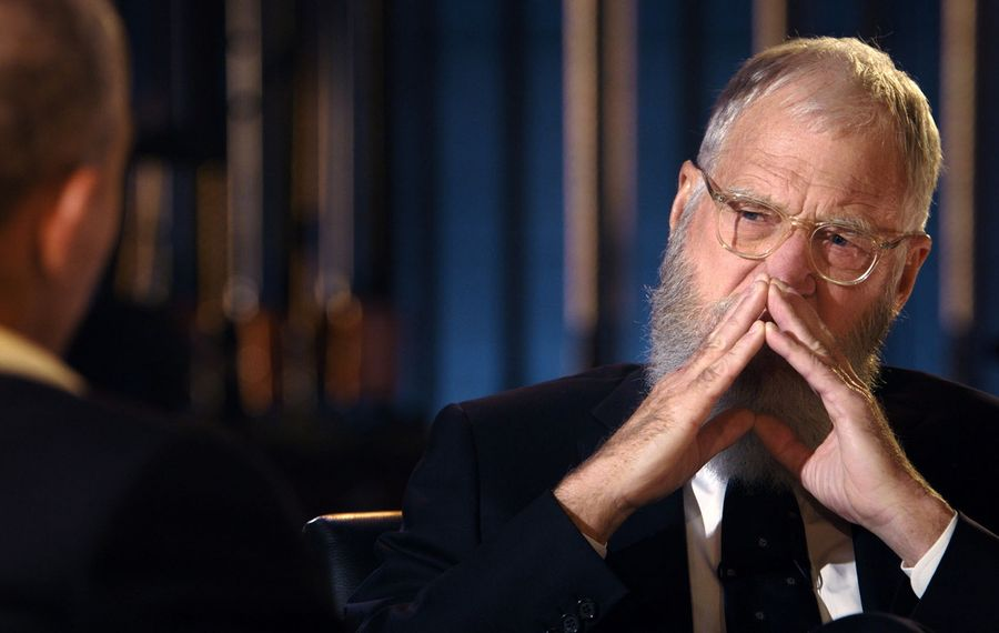 """David Letterman on """"My Next Guest Needs No Introduction with David Letterman."""" (Netflix)"""