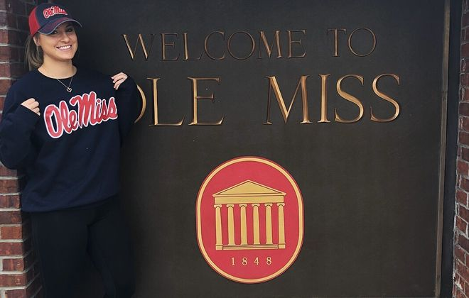 Maddie Pezzino has transferred from Florida State to Ole Miss. (via Pezzino)