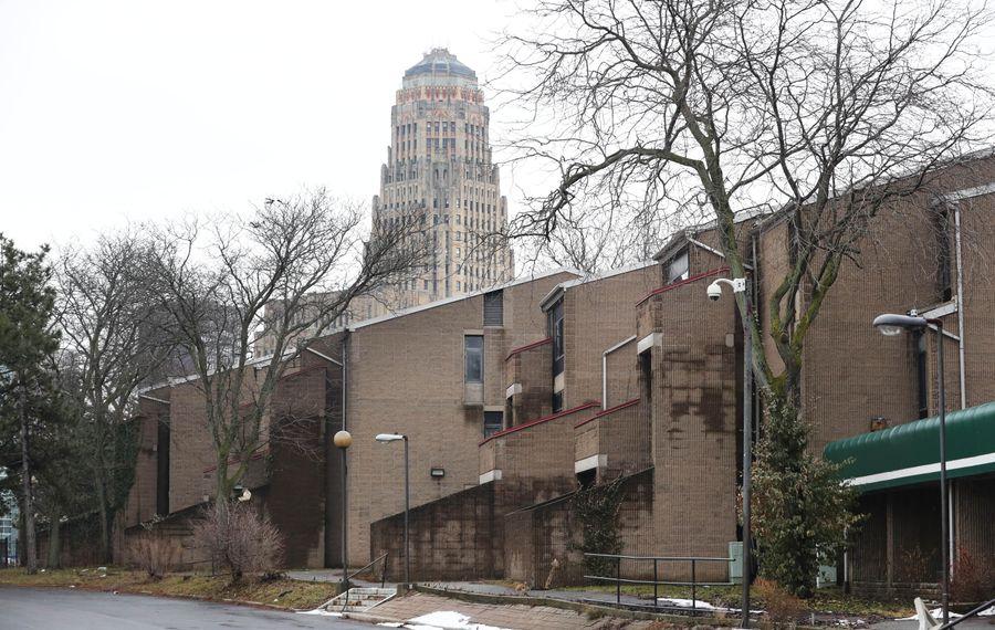 The Shoreline Apartments on Niagara Street in Buffalo on Tuesday, Jan. 23, 2018. (Sharon Cantillon/Buffalo News)