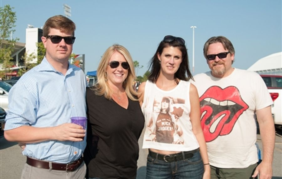 Smiles before The Rolling Stones at the Ralph