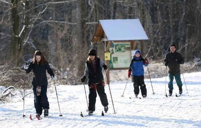 Cross-country ski as weather allows, at  Reinstein Woods. (Sharon Cantillon/News file photo)