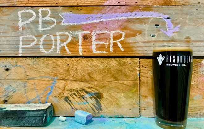 The Peter B. Porter will be available Jan. 10 from Resurgence Brewing. (via Resurgence)