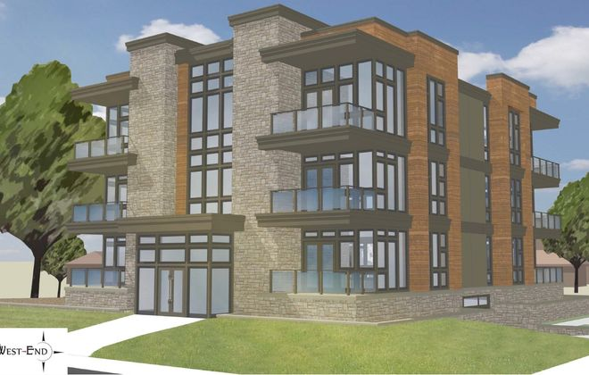 Proposed West End condos by Ciminelli Real Estate Corp. at 240-260 Lakefront Blvd.
