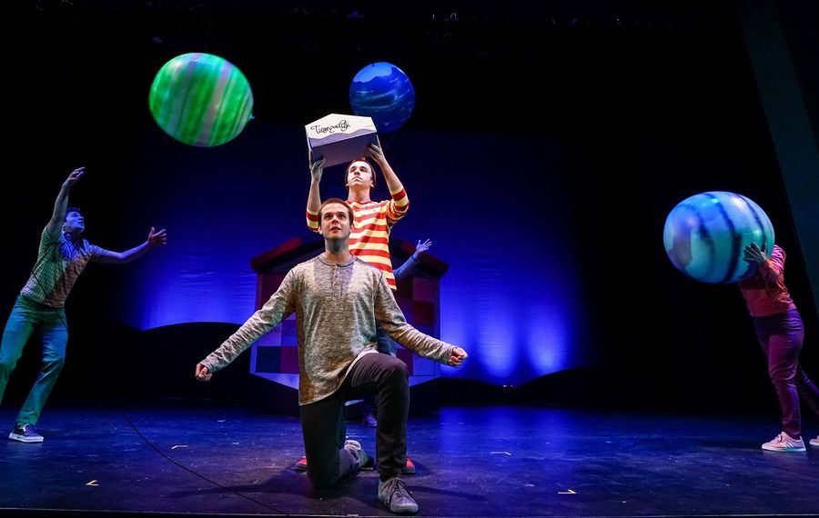 """""""Boy on the Edge of Everything"""" is a fun and insightful play for older kids presented by Theatre of Youth."""