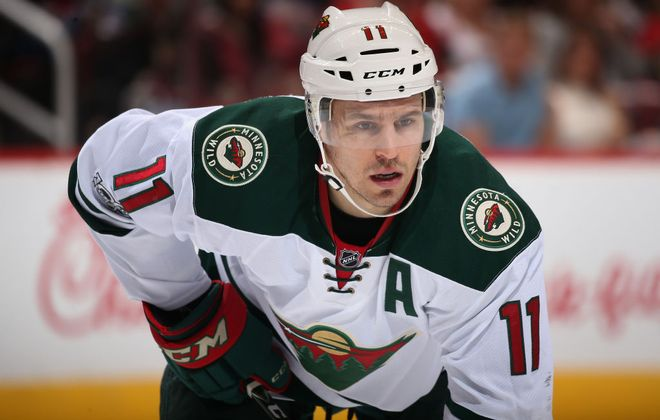 Zach Parise made his season debut for the Minnesota Wild on Tuesday against Florida (Getty Images file photo).