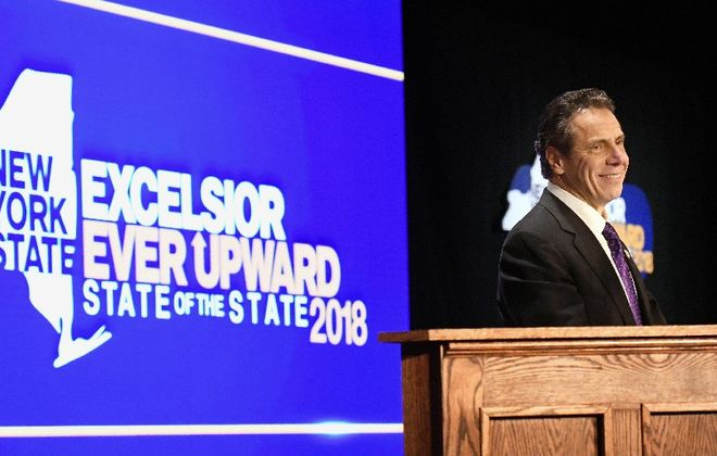 Gov. Andrew M. Cuomo is looking to raise revenues, while increasing spending. (Albany Times Union)
