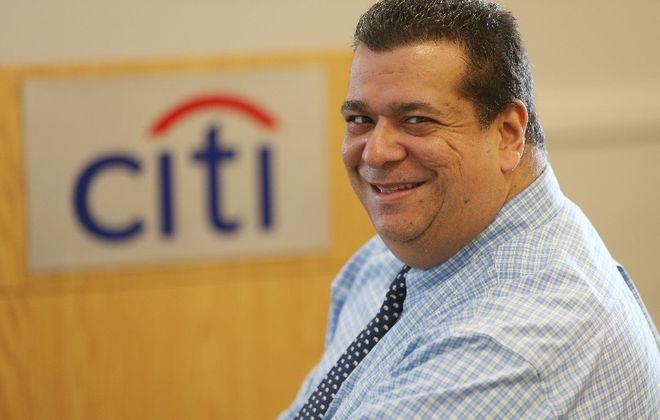 Anthony Vazquez, Citi's site head in Getzville. (Derek Gee/Buffalo News)