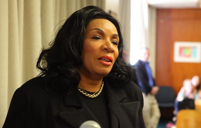 Crystal Boling-Barton, on paid leave as principal of McKinley High School, lost her bid to have the suspension overturned Thursday amid a probe of how $22,000 was used at the school. (Buffalo News file photo)
