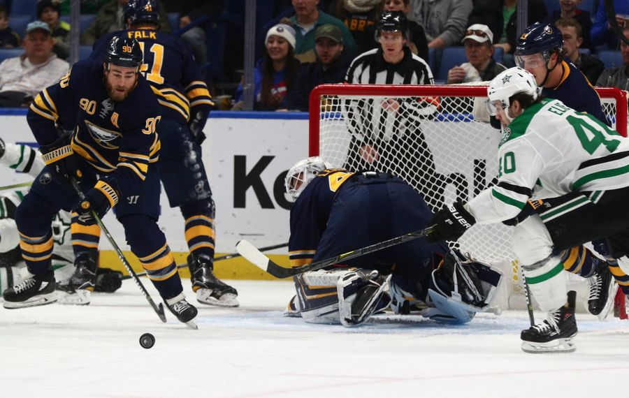 While the Sabres were scrambling, the Stars were climbing into playoff contention. (James P. McCoy/Buffalo News)