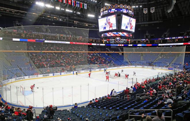 Ticket sales have not be robust for the 2018 World Juniors in Buffalo. (Harry Scull Jr./Buffalo News)