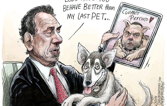 Cuomo's New Dog: February 18, 2018