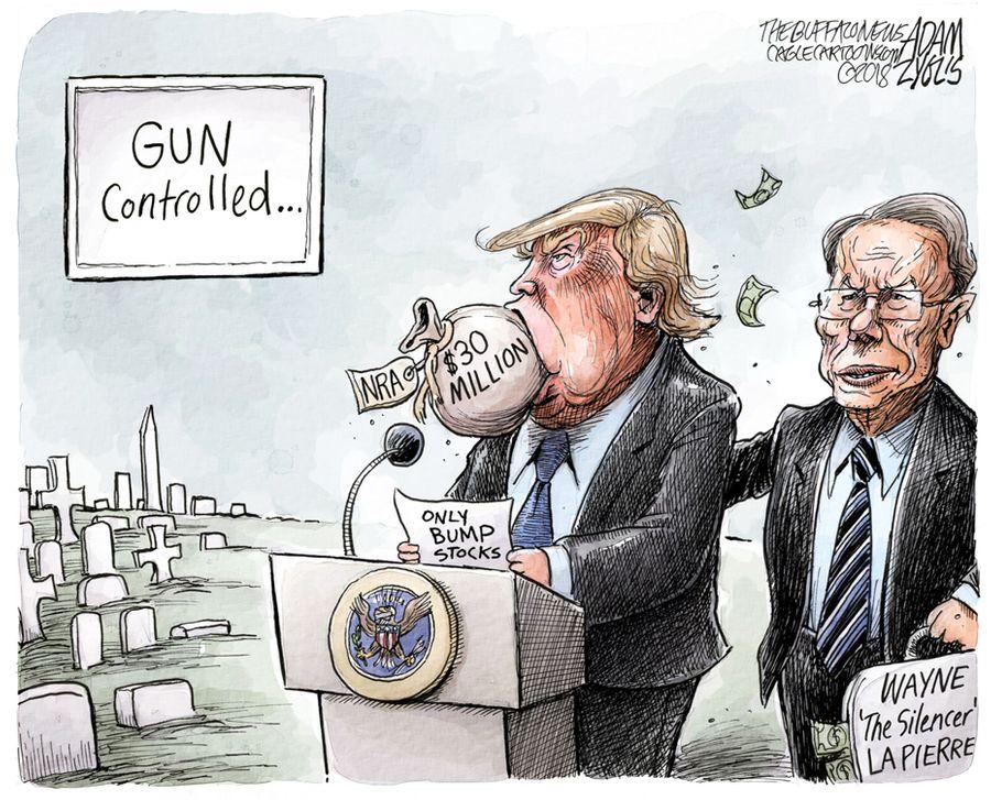 Adam Zyglis Reforming Gun Laws The Buffalo News